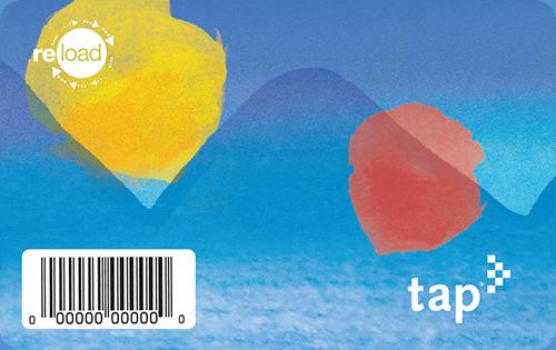 Barcode TAP card