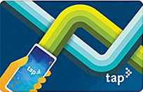 TAP App Commemorative Card - blue