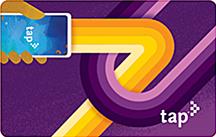 TAP App Commemorative Card - purple
